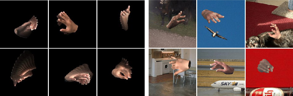 Figure 1 for SeqHAND:RGB-Sequence-Based 3D Hand Pose and Shape Estimation