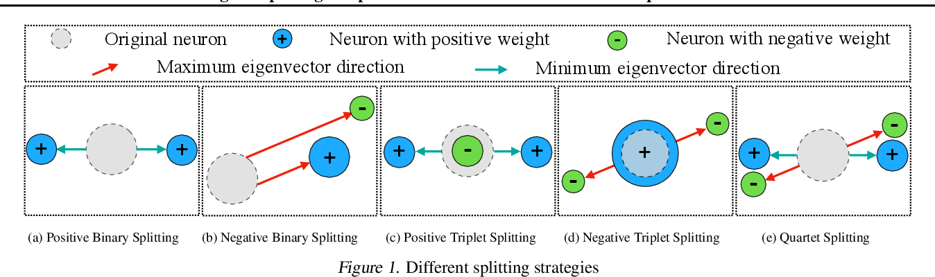 Figure 1 for Steepest Descent Neural Architecture Optimization: Escaping Local Optimum with Signed Neural Splitting