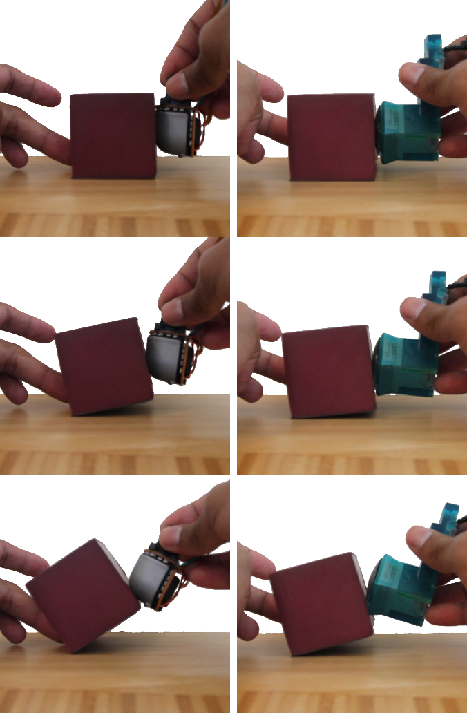Figure 2 for Soft, Round, High Resolution Tactile Fingertip Sensors for Dexterous Robotic Manipulation