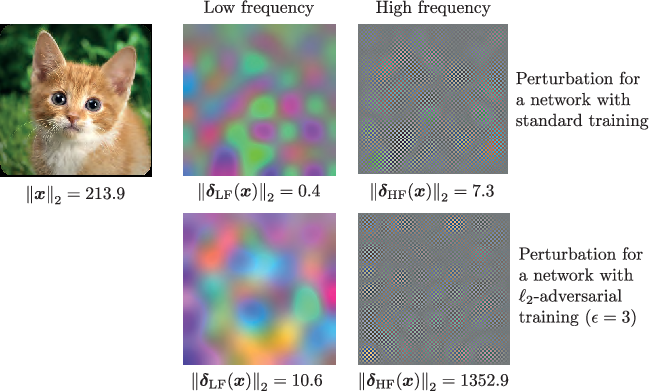 Figure 1 for Hold me tight! Influence of discriminative features on deep network boundaries
