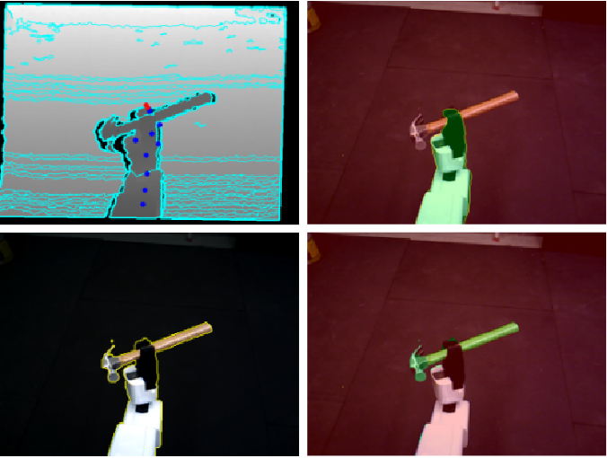 Figure 1 for Self-Supervised Robot In-hand Object Learning