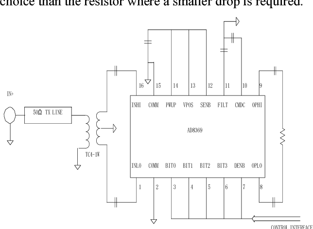 Figure 4. Basic Connections CONTROL INTERFACE