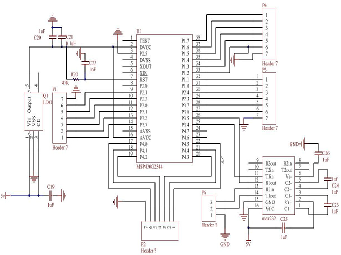 Figure 7.Principle diagram of the SCM control system IV. TEST RESULTS