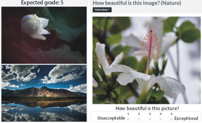 Figure 4 for An Image is Worth More than a Thousand Favorites: Surfacing the Hidden Beauty of Flickr Pictures