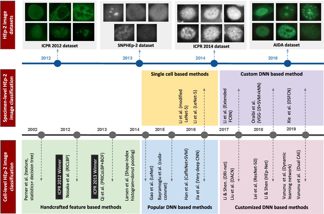 Figure 1 for Deep Learning based HEp-2 Image Classification: A Comprehensive Review