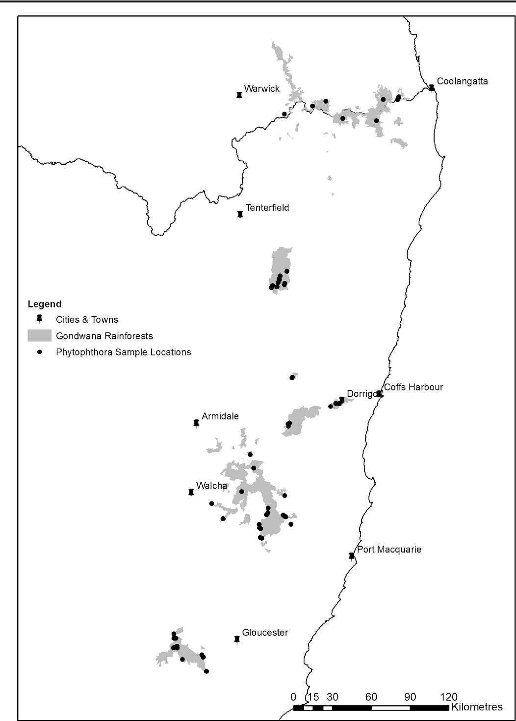 Phytophthora in the gondwana rainforests of australia world heritage figure 1 gumiabroncs Image collections