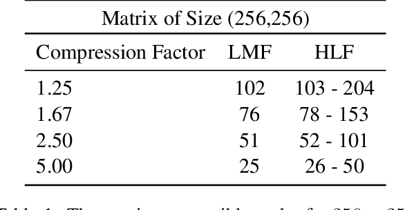 Figure 2 for Rank and run-time aware compression of NLP Applications