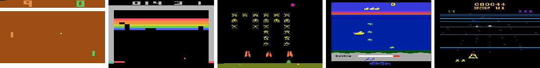 Figure 1 for Playing Atari with Deep Reinforcement Learning