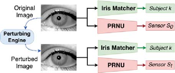 Figure 1 for Spoofing PRNU Patterns of Iris Sensors while Preserving Iris Recognition
