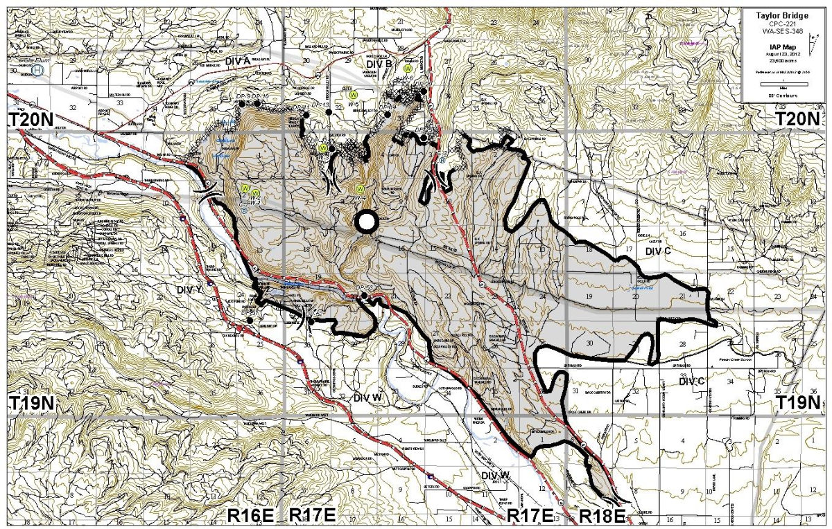 Fire Map Washington State 2017.Figure 6 From Effects Of Wildfires On Rattlesnake Crotalus Oreganus