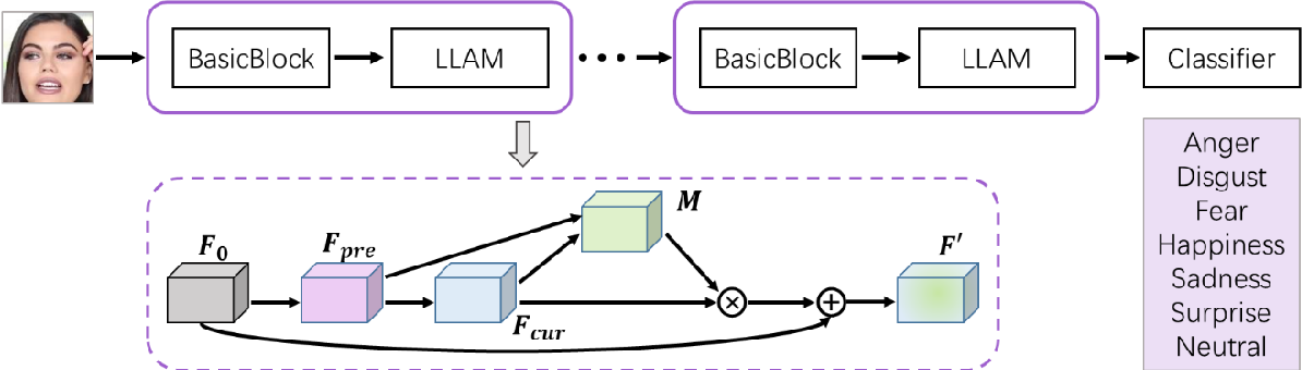 Figure 1 for Lossless Attention in Convolutional Networks for Facial Expression Recognition in the Wild