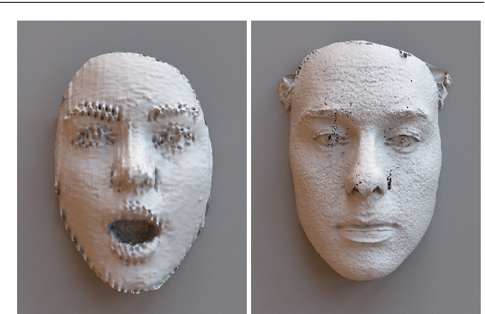 Figure 3 for Shape My Face: Registering 3D Face Scans by Surface-to-Surface Translation