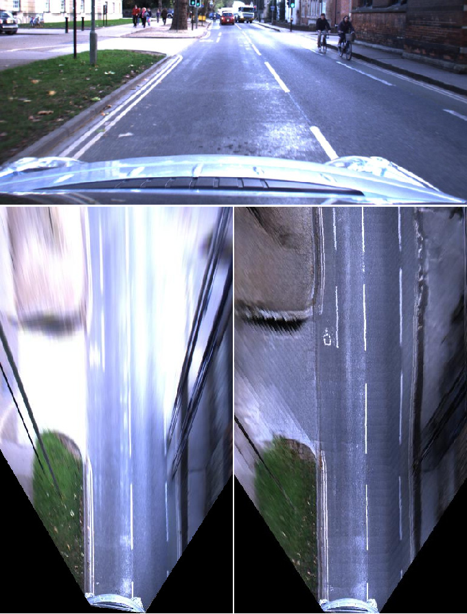 Figure 1 for The Right (Angled) Perspective: Improving the Understanding of Road Scenes using Boosted Inverse Perspective Mapping