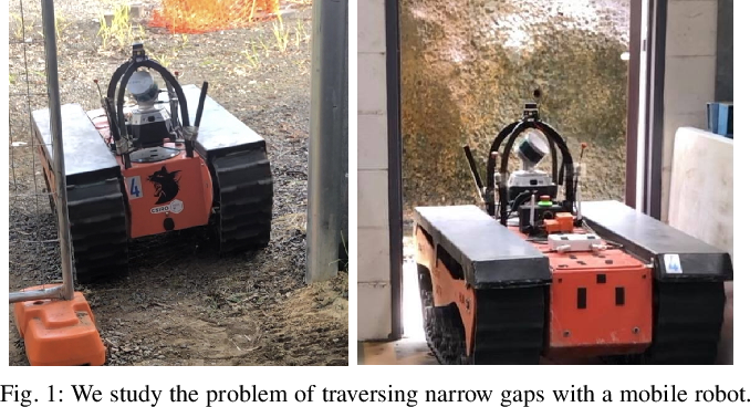 Figure 1 for Passing Through Narrow Gaps with Deep Reinforcement Learning