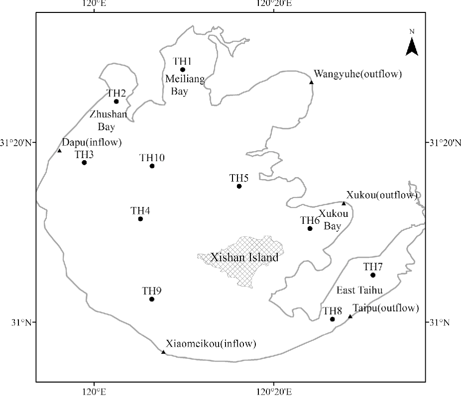 Spatialtemporal Patterns Of Methane Dynamics In Lake Taihu