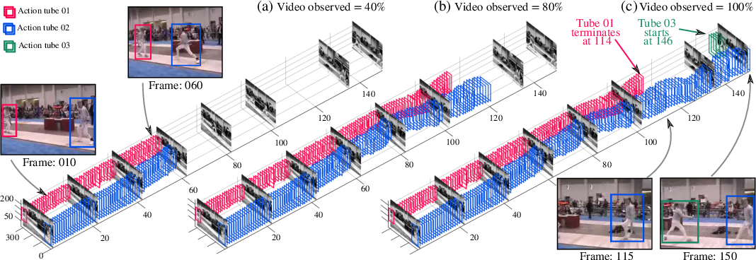 Figure 1 for Online Spatiotemporal Action Detection and Prediction via Causal Representations