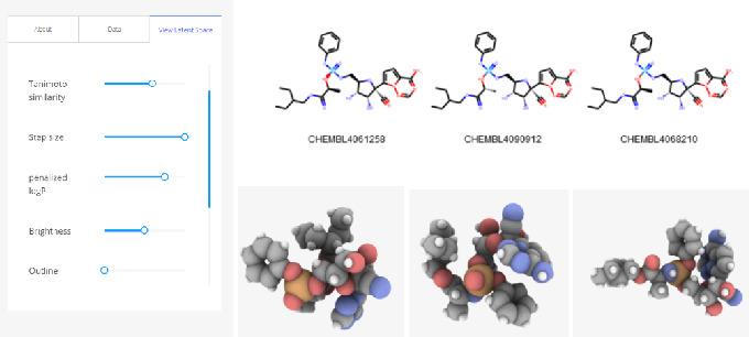 Figure 4 for Visualizing Deep Graph Generative Models for Drug Discovery