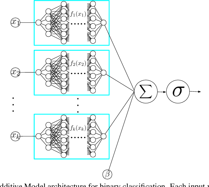 Figure 1 for Neural Additive Models: Interpretable Machine Learning with Neural Nets