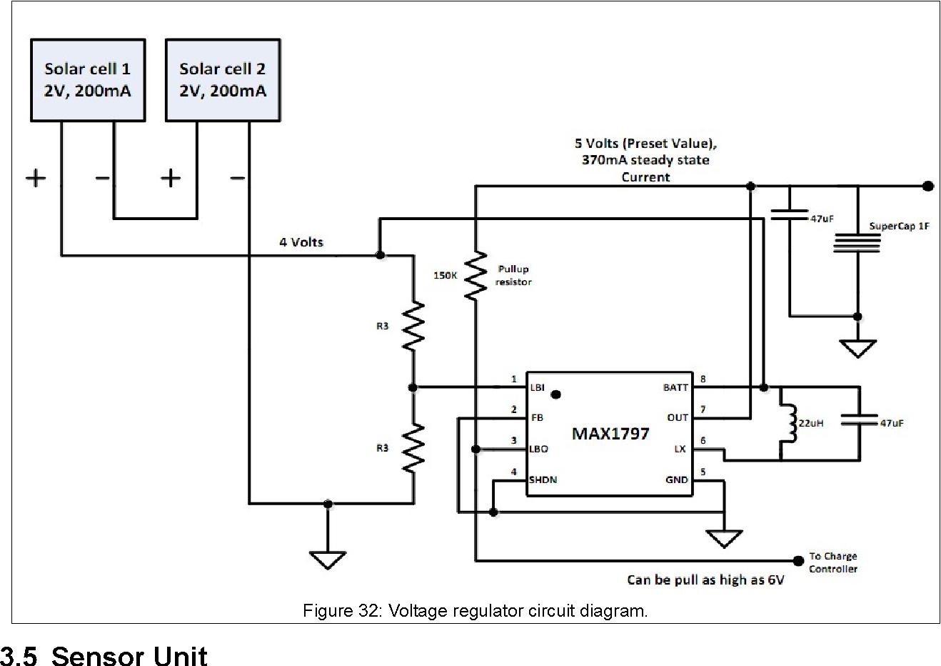 Design Of Autonomous Low Power Sensor For Soil Moisture Measurement 5 Volt Voltage Regulator Circuit Semantic Scholar