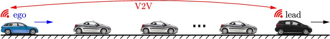 Figure 1 for Traffic Forecasting using Vehicle-to-Vehicle Communication
