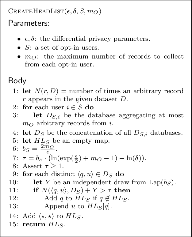 Figure 2 for BLENDER: Enabling Local Search with a Hybrid Differential Privacy Model