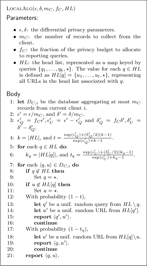 Figure 4 for BLENDER: Enabling Local Search with a Hybrid Differential Privacy Model