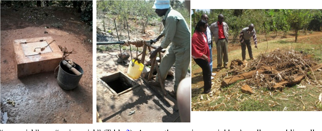 The costs of coping with poor water supply in rural Kenya: COPING