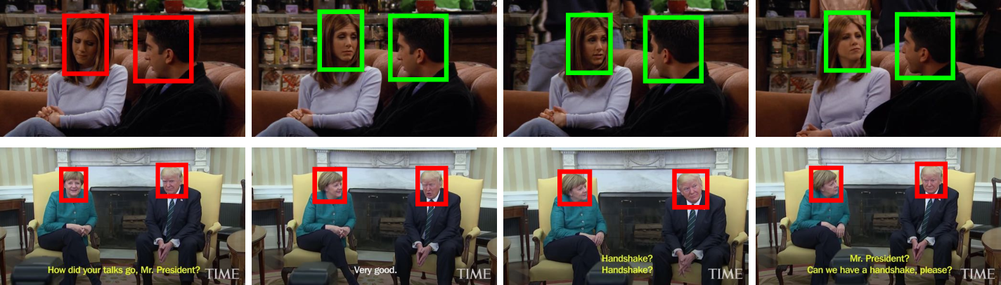 Figure 1 for LAEO-Net++: revisiting people Looking At Each Other in videos