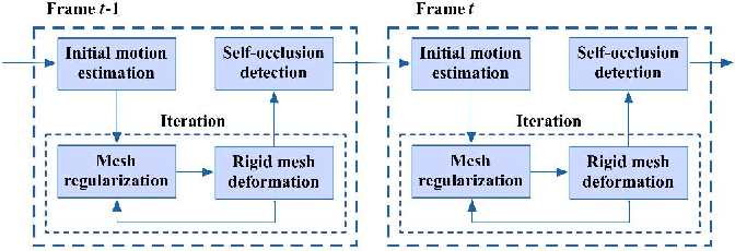 Figure 1 for Long-Range Motion Trajectories Extraction of Articulated Human Using Mesh Evolution