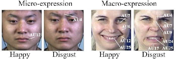 Figure 1 for Deep Learning based Micro-expression Recognition: A Survey