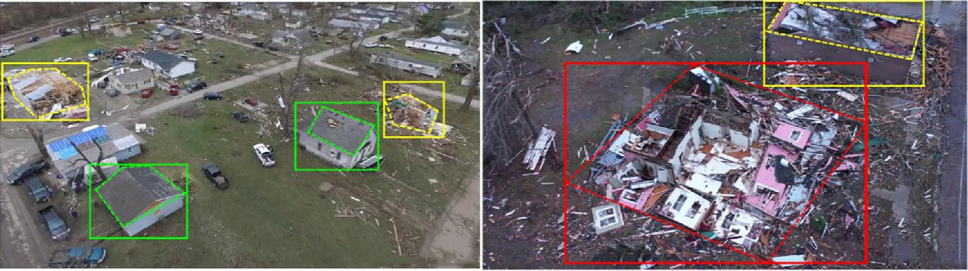 Figure 2 for MSNet: A Multilevel Instance Segmentation Network for Natural Disaster Damage Assessment in Aerial Videos