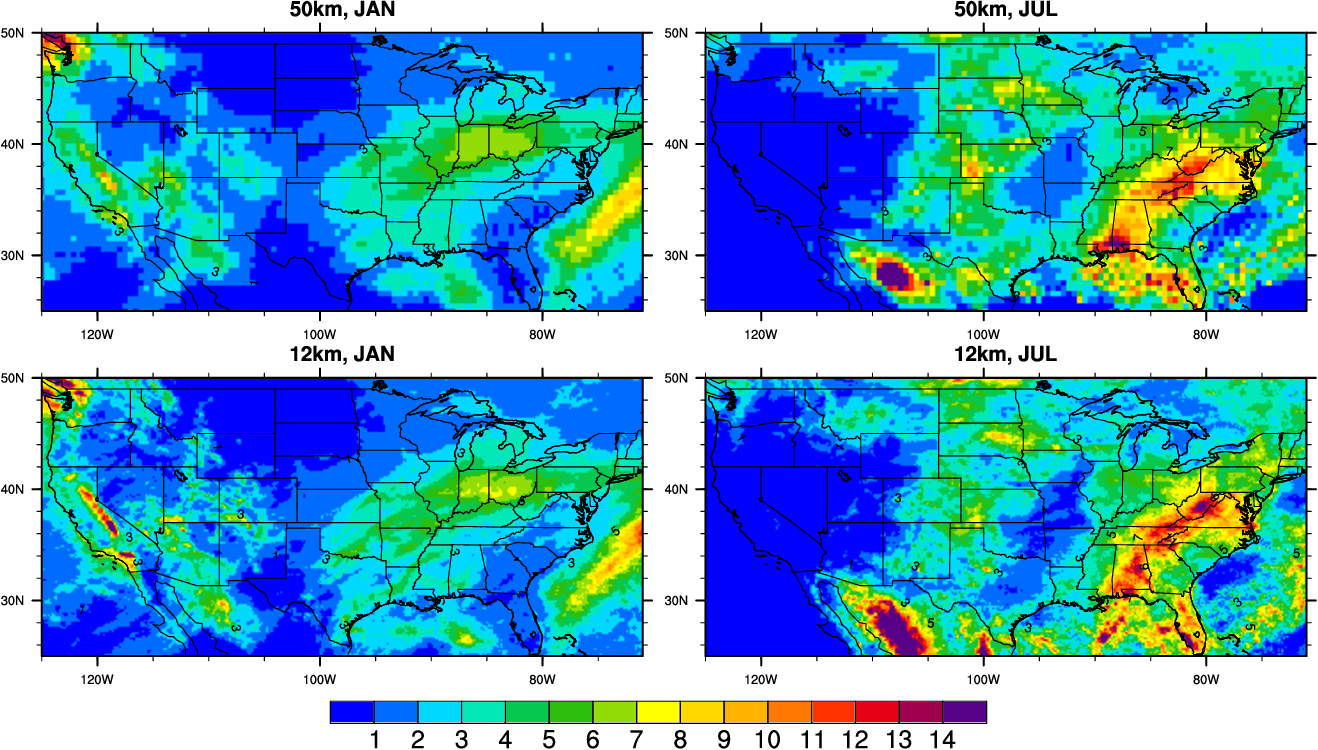 Figure 3 for Fast and accurate learned multiresolution dynamical downscaling for precipitation
