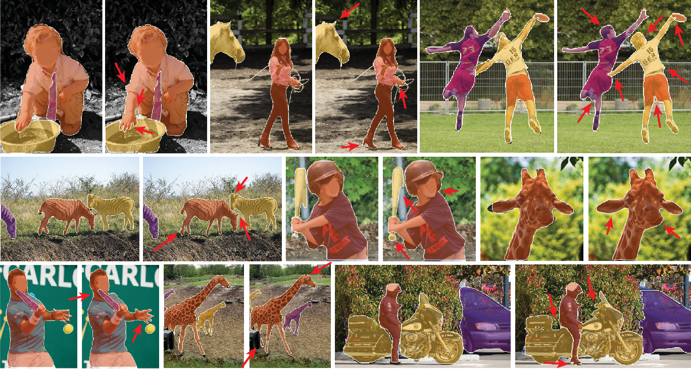 Figure 3 for PointRend: Image Segmentation as Rendering
