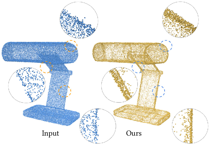 Figure 1 for Self-Sampling for Neural Point Cloud Consolidation
