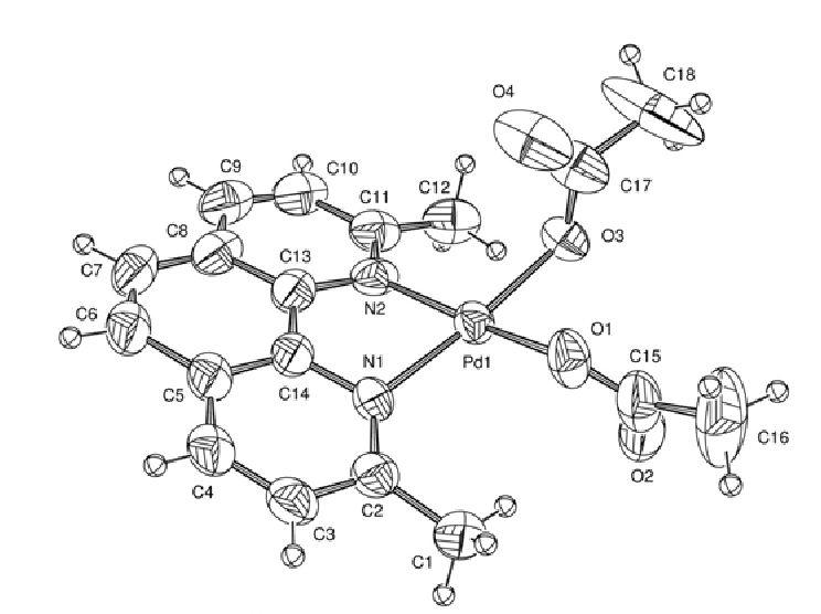 Figure 1 From Formation Of Six Membered Palladacycles From