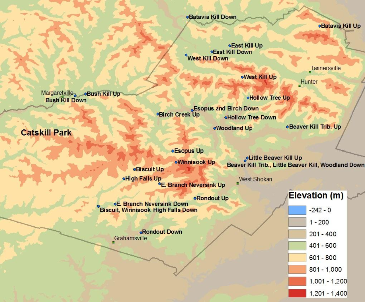Figure 3 from Estimation of Solute Fluxes from Uned ... on canyon de chelly national monument map, new england park map, shawangunk ridge map, memphis park map, cranberry lake park map, devil's den state park map, ochlockonee river state park map, catskills on map, susquehanna state park trail map, boston park map, fort lee park map, caledonia state park trail map, bill baggs cape florida state park map, eastern catskills map, colton point state park map, the catskills map, van buren park map, esopus creek map, brown county state park map, rocky mountain national park trail map,
