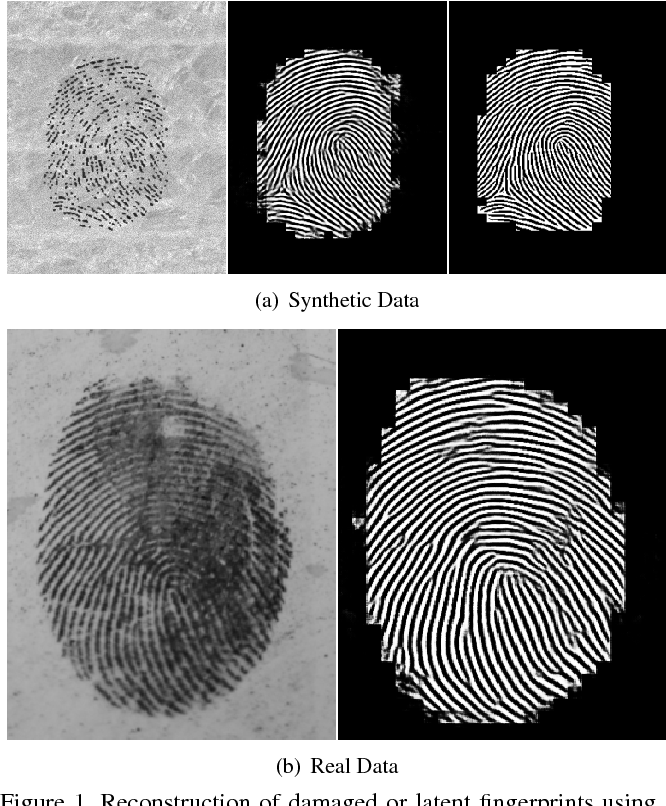 Figure 1 for Generative Convolutional Networks for Latent Fingerprint Reconstruction