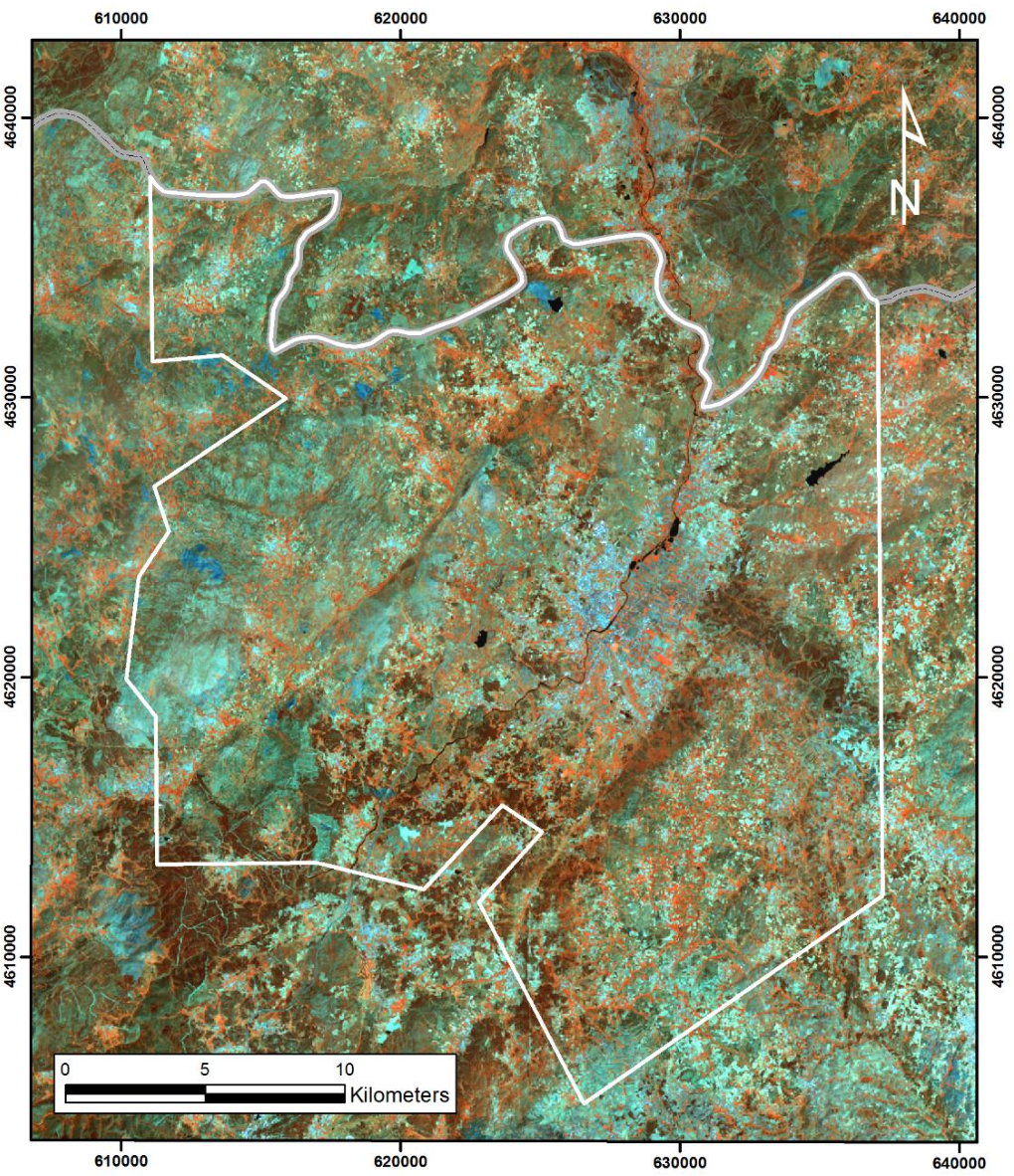 Figure 13 from Mapping hydrothermal gold mineralization