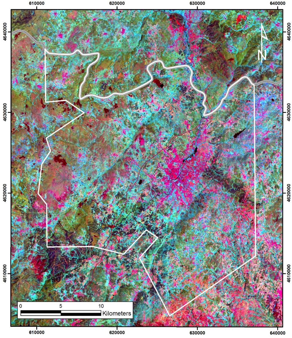 Figure 16 from Mapping hydrothermal gold mineralization