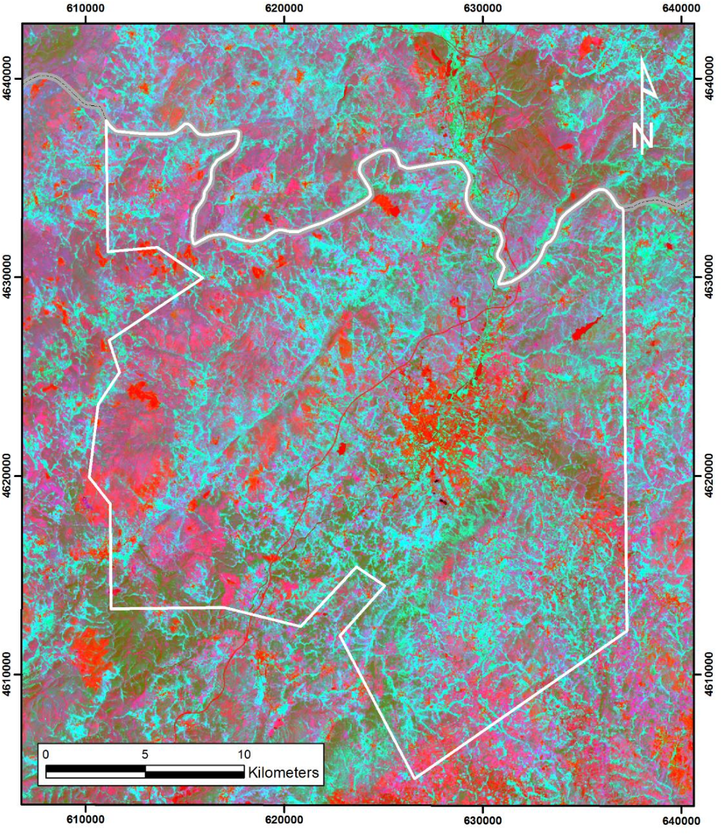 Figure 17 from Mapping hydrothermal gold mineralization