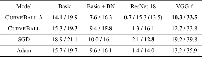 Figure 4 for Small steps and giant leaps: Minimal Newton solvers for Deep Learning