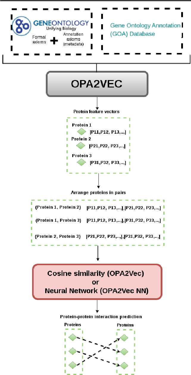 Figure 4 for OPA2Vec: combining formal and informal content of biomedical ontologies to improve similarity-based prediction