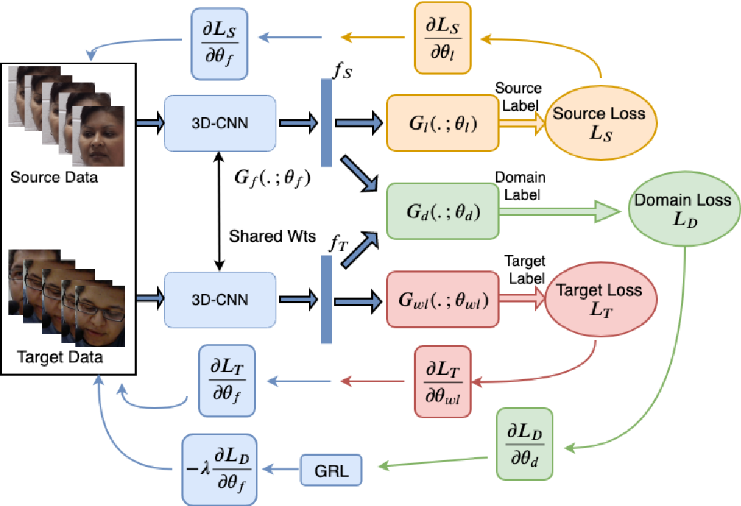 Figure 1 for Deep Weakly-Supervised Domain Adaptation for Pain Localization in Videos