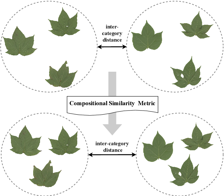Figure 2 for A Compositional Feature Embedding and Similarity Metric for Ultra-Fine-Grained Visual Categorization