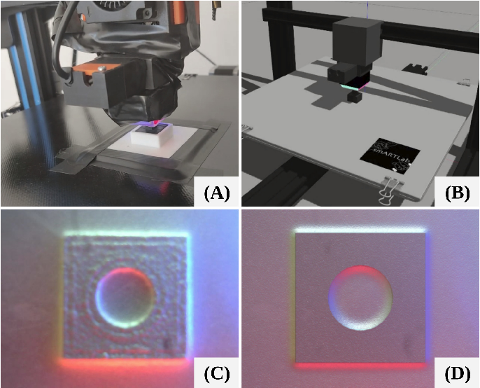 Figure 1 for Generation of GelSight Tactile Images for Sim2Real Learning