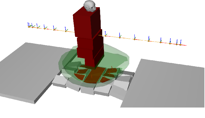 Figure 3 for Solving Footstep Planning as a Feasibility Problem using L1-norm Minimization