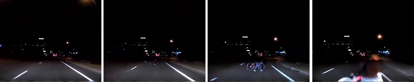 Figure 1 for Enabling Pedestrian Safety using Computer Vision Techniques: A Case Study of the 2018 Uber Inc. Self-driving Car Crash
