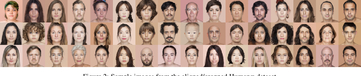 Figure 2 for Learning a face space for experiments on human identity