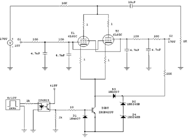 Figure 3. Circuit layout of the low voltage prototype.