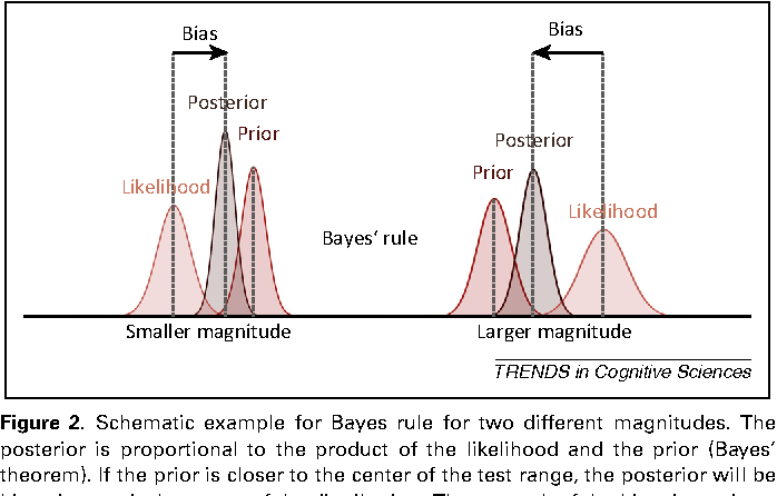 Figure 2 from A Bayesian perspective on magnitude estimation ...